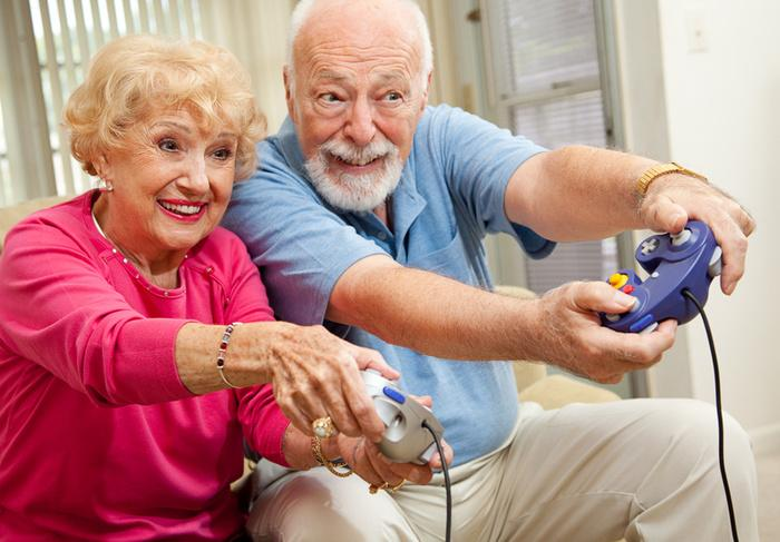 senior adult games