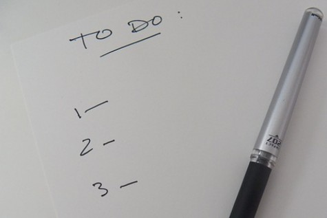 College Application To-Do List