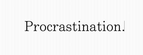Procrastination: The Fine Art of a Teenager