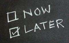 When Procrastination Strikes