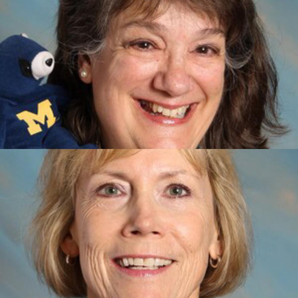 (Top to bottom) Mrs. Jansen and Mrs. Werner smile for their official staff photos.