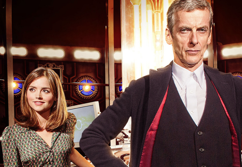 The+Doctor+%28on+the+right%29+and+his+human+companion%2C+Clara+%28on+the+left%29.