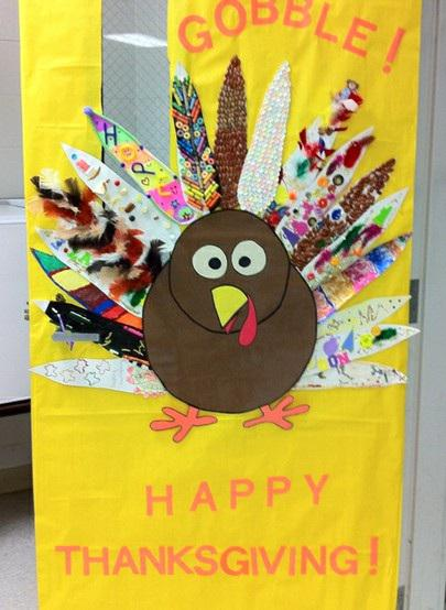 Classroom Door Decoration Ideas For November ~ This year s door decorating contest frontline