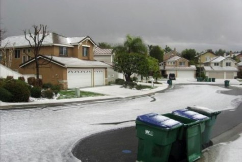 Odd Orange County Weather Conditions, Including Snowfall