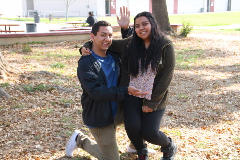 Interview with Winter Formal Court: Daisy Rangel and Christian Viera