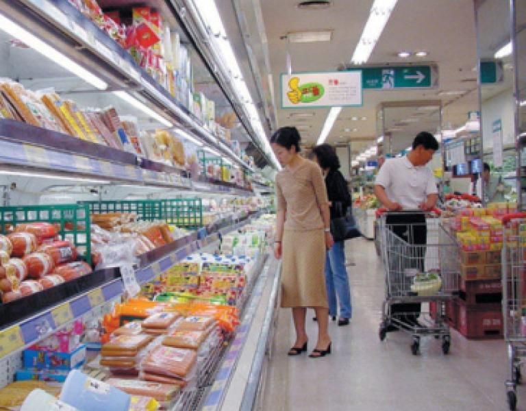 Released pictures of North Korean markets show signs of prosperity and plenty, while the remainder of the nation suffers from extreme poverty