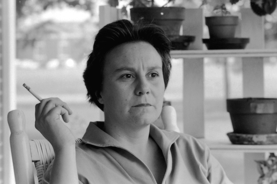 Harper Lee in an older photo