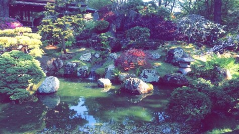 Feng Shui: The Japanese Tea Garden pond.