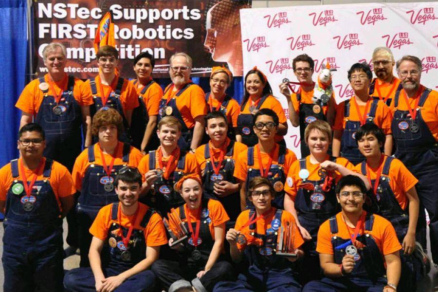 The Clockwork Oranges earned the wild card spot for the Worlds Championship at the Las Vegas Regionals.