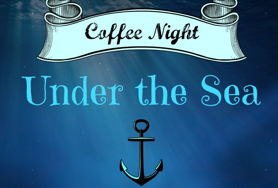 The last coffee night dove under the sea for a night of  talent