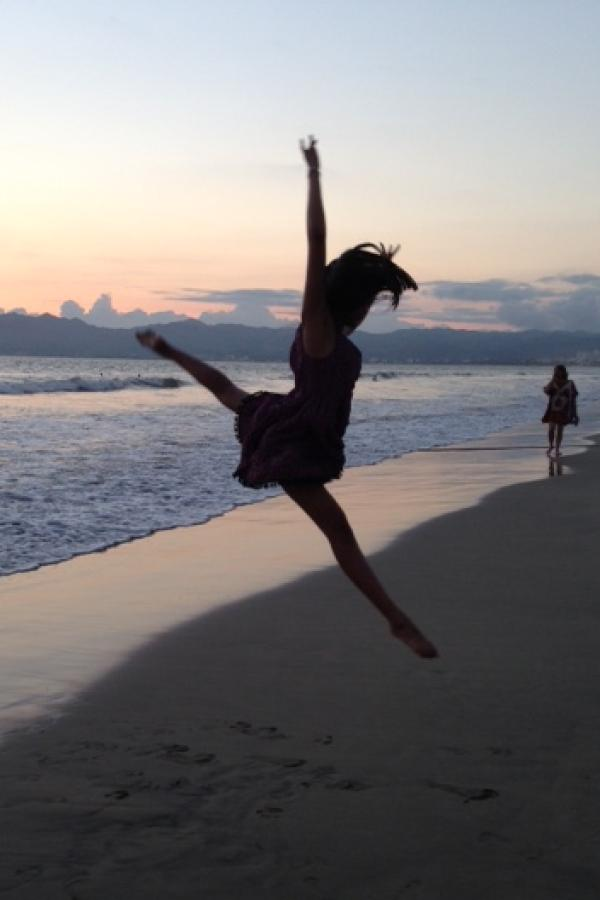 Junior Taylor Thi leaping into a new era of the Vanguard Dance Company