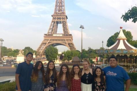 City of Lights: The Benner school summer trip of 2015 toured Paris, France.