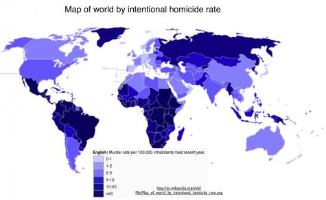 MASS MASSACRES: Statistics from all around the world regarding homicides.