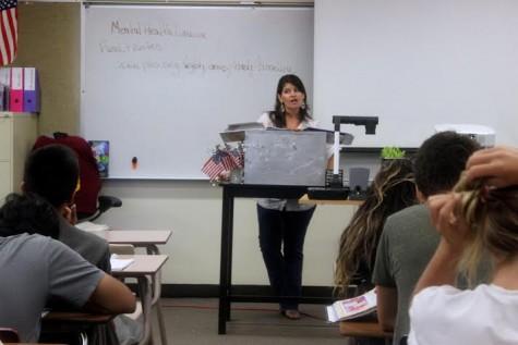 Celebrating 50 Years: Dr. Chapman teaching her class.