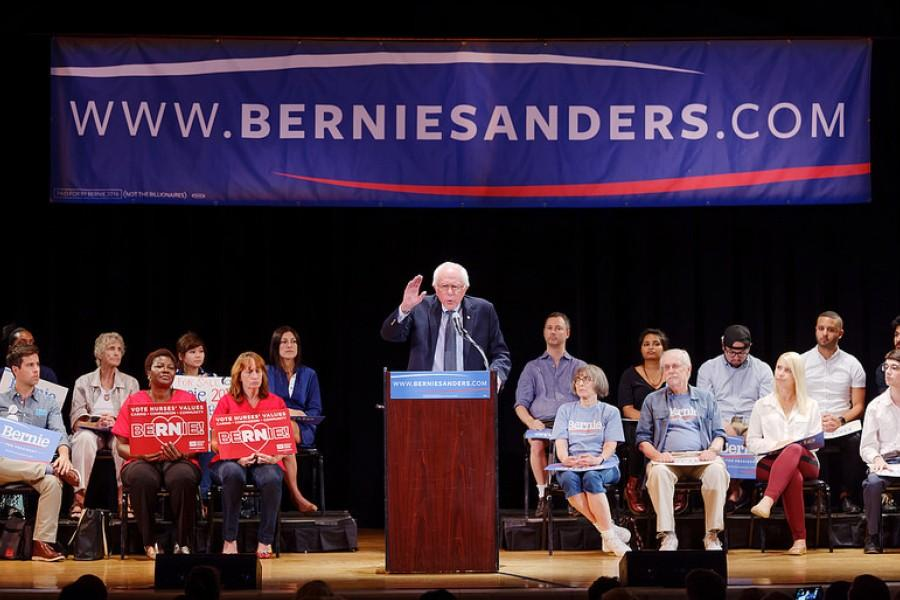 Senator+Bernie+Sanders+is+the+most+popular+candidate+among+young+voters