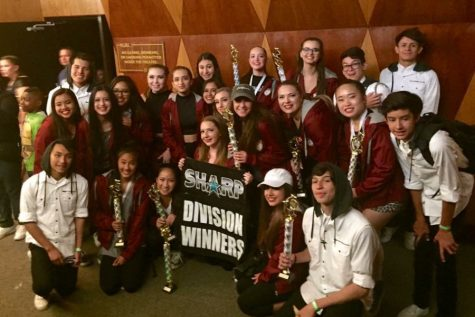 The Vanguard Dance Company after their win at Sharp International Dance Competition.