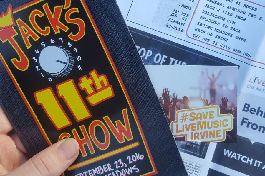 Jack's 11th Show was full of 90's spirit at Irvine Meadows