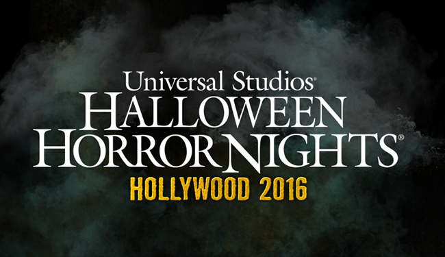 advertisement for universal studios horror nights 2016