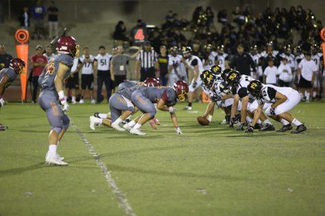El Modena Powers Past Foothill