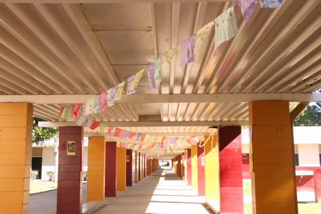Papel+Picado+flows+in+the+wind+through+the+hallways+of+El+Modena.