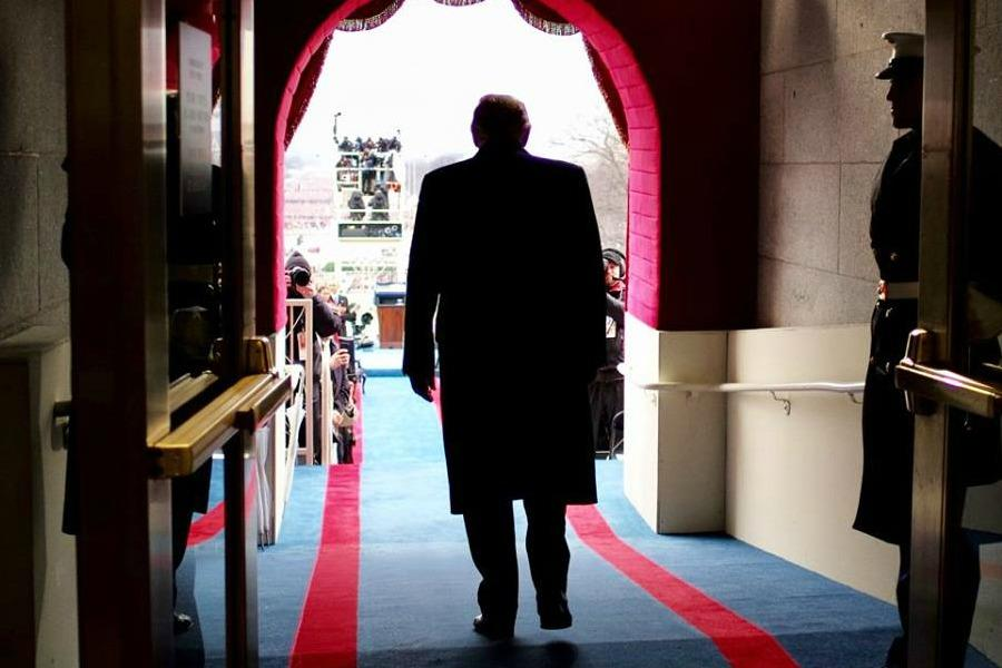 Trump preparing to be sworn in