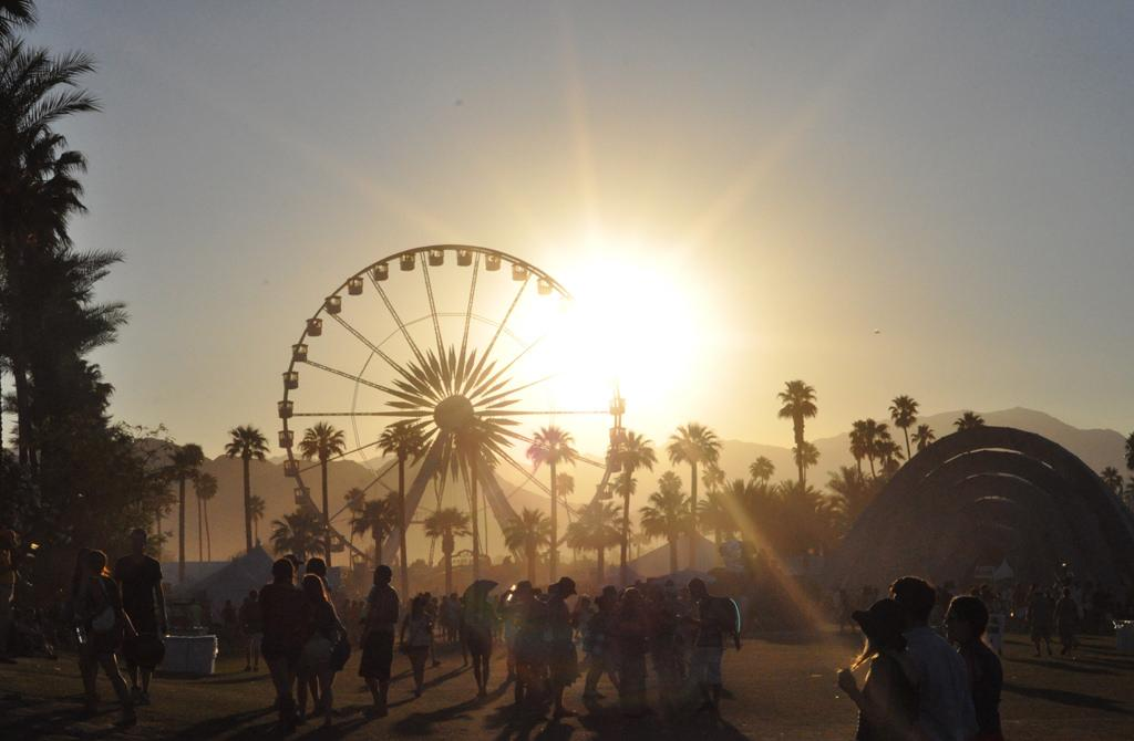 Coachella Valley Music and Arts Festival in Indio, California (Photo Via Flickr under the Creative Commons License).