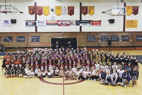 El Modena's Third Annual Cheer Showcase
