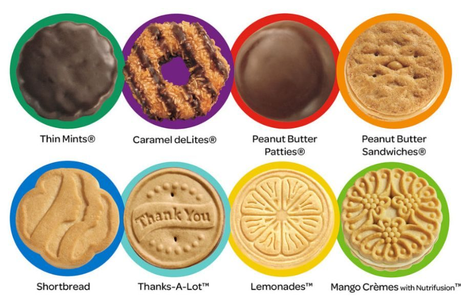 Girl Scout cookies have come a long way since their humble beginnings as plain old sugar