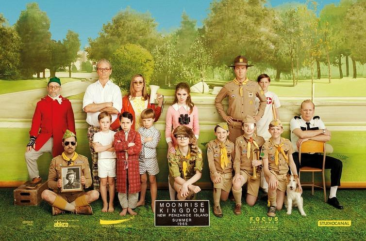 The cast of Wes Anderson's
