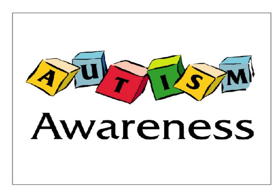 April is Autism Awareness
