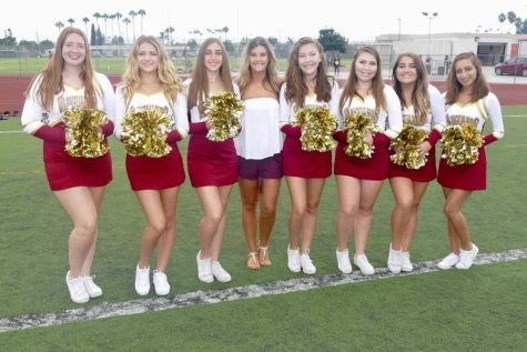 Pom Team Prances Onto Sidelines