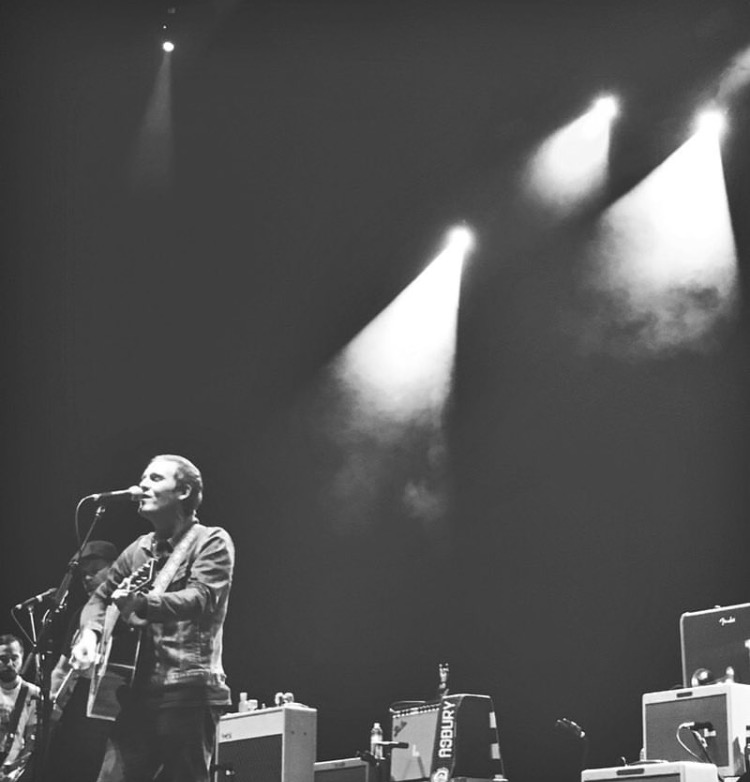 Brian Fallon & the Crowes at the Wiltern on September 10th, 2016.