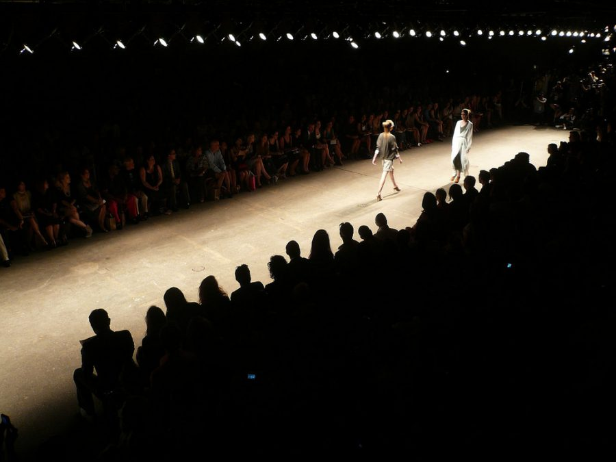 Models+walking+the+runway+at+the+Yigal+Azrouel+Fashion+Show+on+Sept+5%2C+2008.