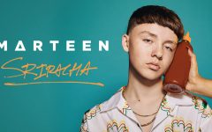Marteen promoting his new single