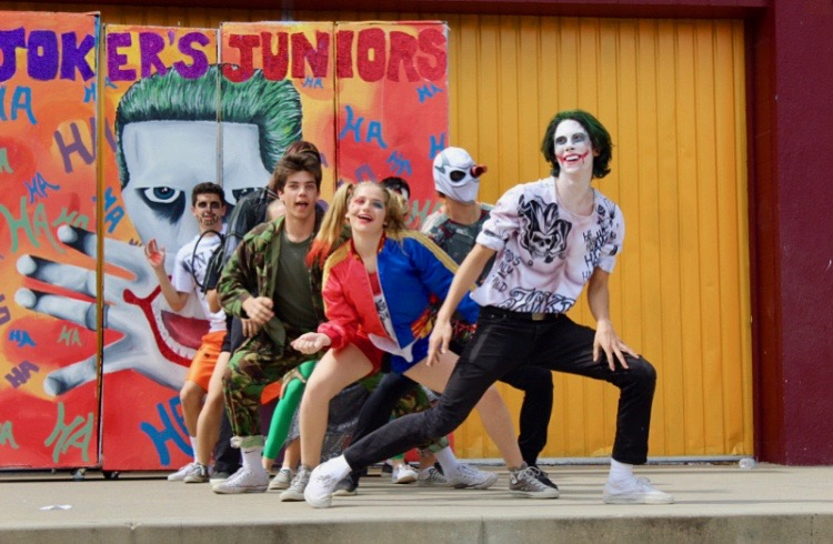 Last year's Spirit Week themes included: Seussical Seniors, Joker Juniors, Super Mario Sophomores and Funky Freshmen.