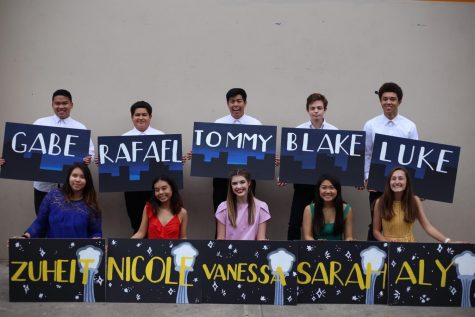 Winter Formal Court