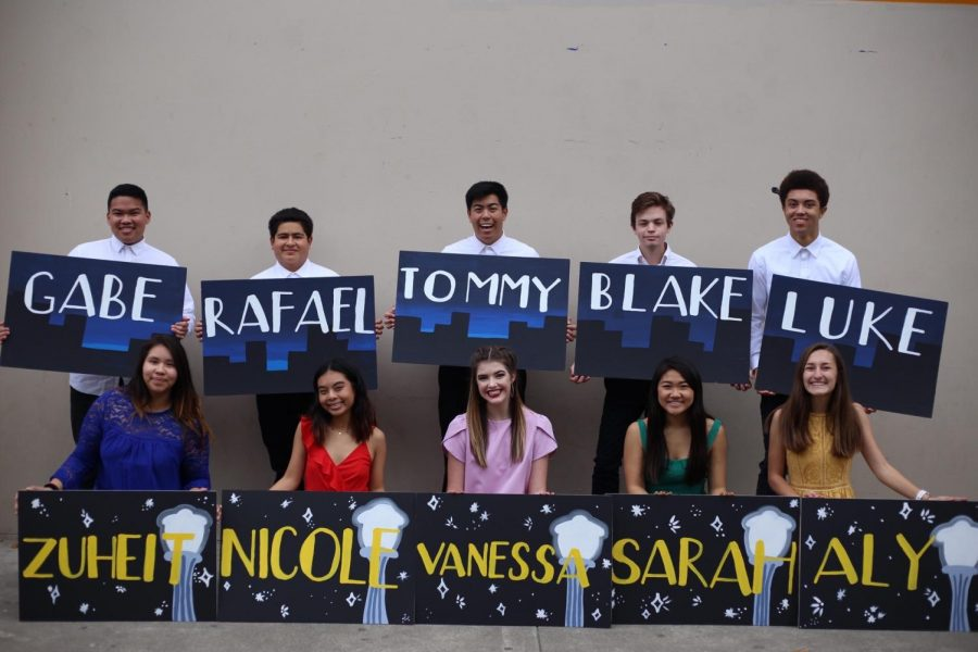 2019 Winter Formal Court