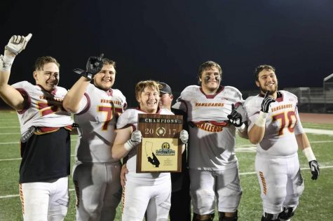After winning CIF, the linemen who led the charge get to finally raise the trophy