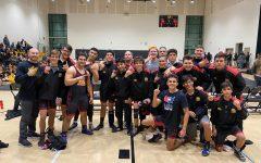Boys Wrestling Victory