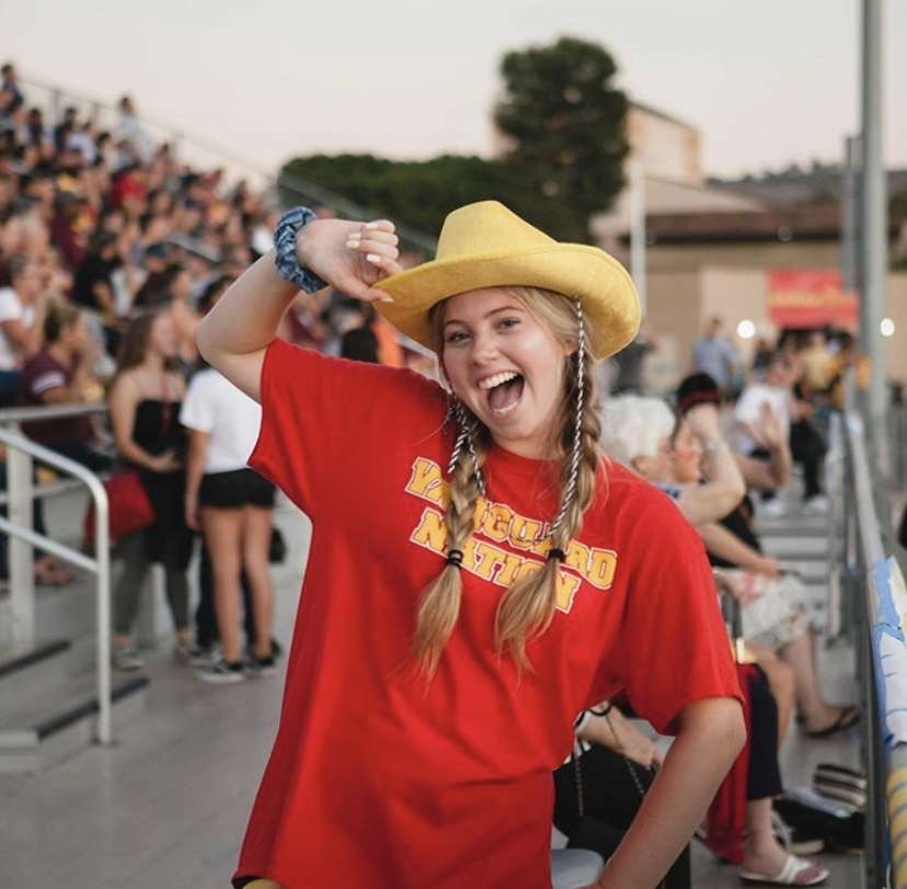 Avery Miles Keeps Her Smile