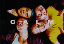 The album cover of 5SOS's 4th record, CALM
