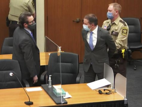 Defense attorney Eric Nelson shares an exchange with Derek Chauvin, following the jury