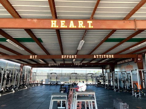 Weight Room Gets a Makeover