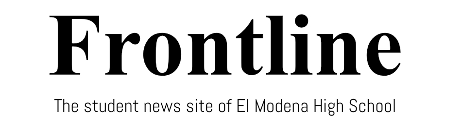The student news site of El Modena High School